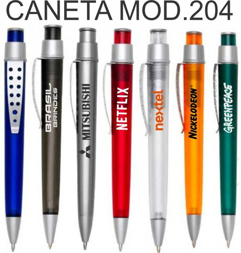 150 canetas personalizadas com sua logomarca, festividade