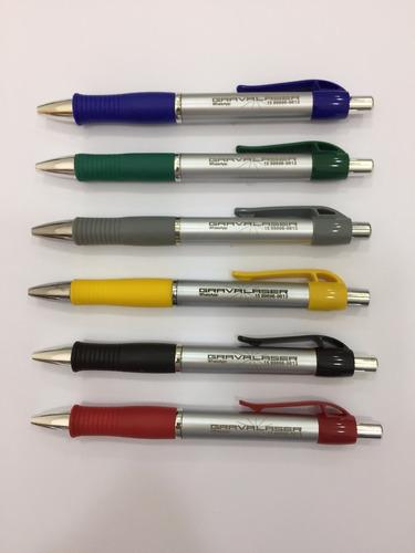 150 canetas plástica sem personalização