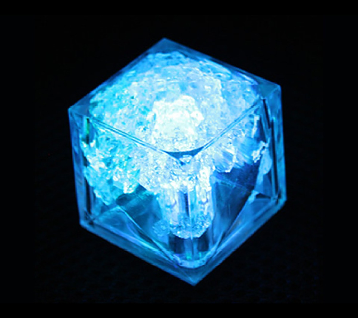 150 Cubos De Hielos Luminosos Led Sumergibles Colores -   1 444e8c3ff30