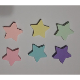 150 Estrellas De Papel En Tonos Pastel
