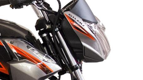 150 naked moto gilera