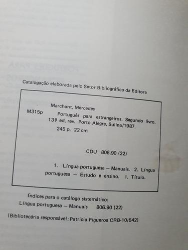150- português para estrangeiros - 2 livro - 13 edição 1987