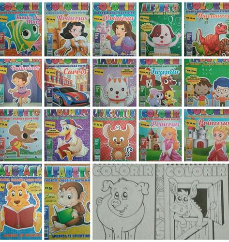 150 revistas de colorir atacado,livrinho infantil.