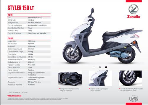 150 scooter zanella styler