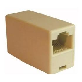 150 Un Conector Emenda Rj45 Dupla Entrada