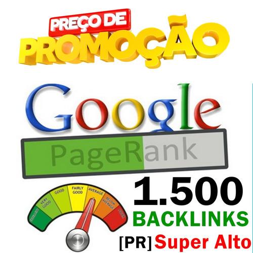 1500 backlinks pagerank [pr] super alto nichos específicos
