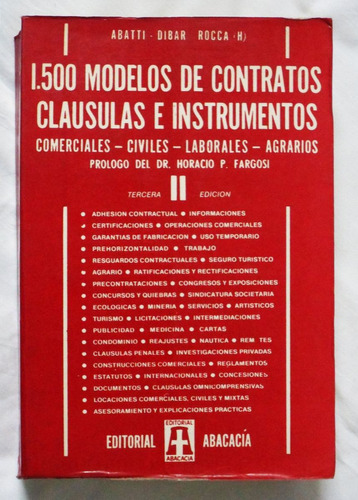 1500 modelos de contratos clausulas e instrumentos tomo 2