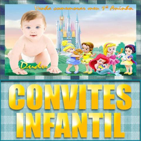 1.500 modelos de convites infantil aniversário lembrança