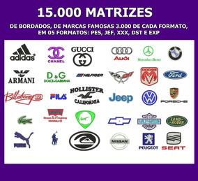 140e32af71f5 Matrizes Bordados Marcas Famosas Para Roupas no Mercado Livre Brasil