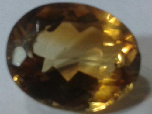 151 se vende pi. topacio facetada color amarillo orijinal