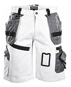 Blaklader 150213709499C46 X1500 Craftman-Shorts Size 32//32 Grey//Black