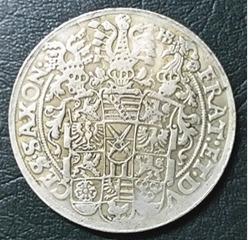 15124 - alemanha 1592 - saxõnia thaler - réplica-40mm