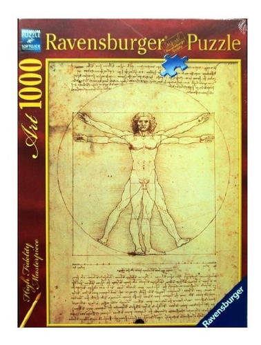 15250 ravensburger vinci hombre vitruvio rompecabezas 1000