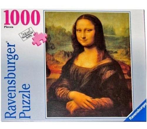 15296 ravensburger vinci mona lisa rompecabezas 1000 piezas