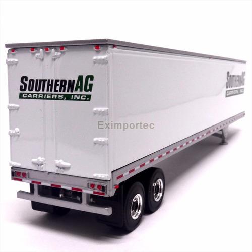 1:53 remolque trailer caja seca sin tracto 1:50 - 1:53 metal