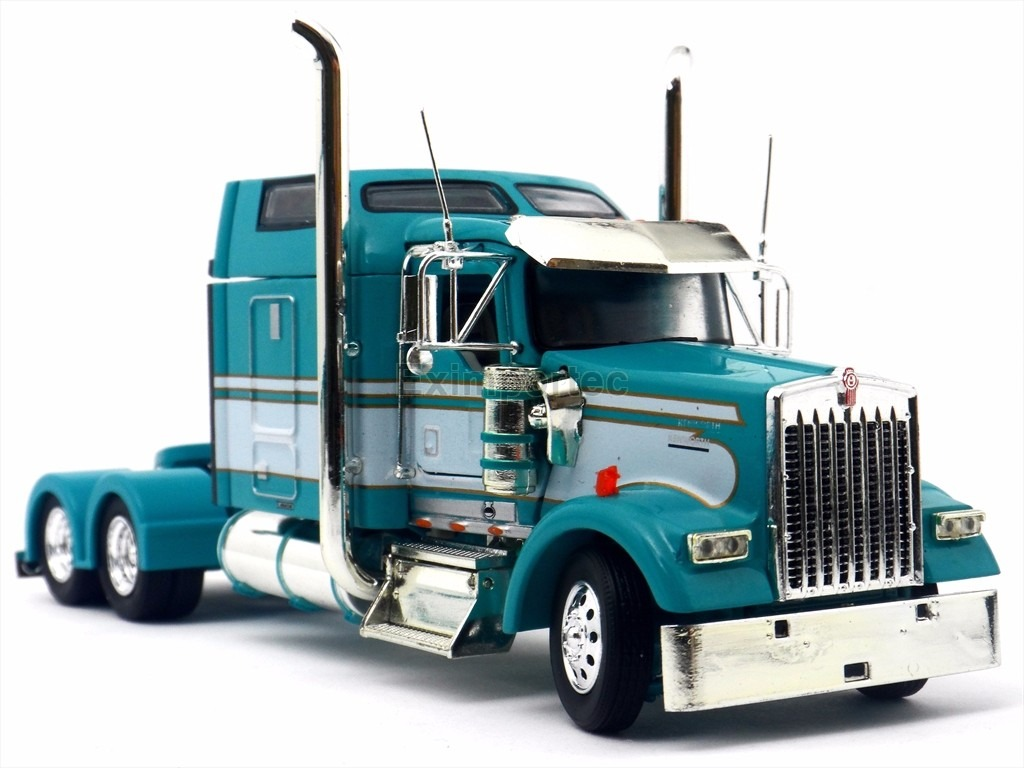 1:53 Tracto Camion Kenworth W900 Tonkin Trailer Metalico