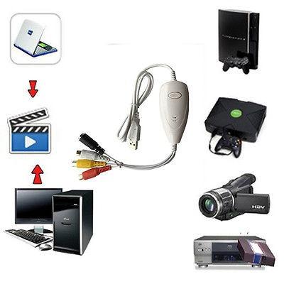 1568 ezcap usb video capture tarjeta convertidor, vhs, v8, h