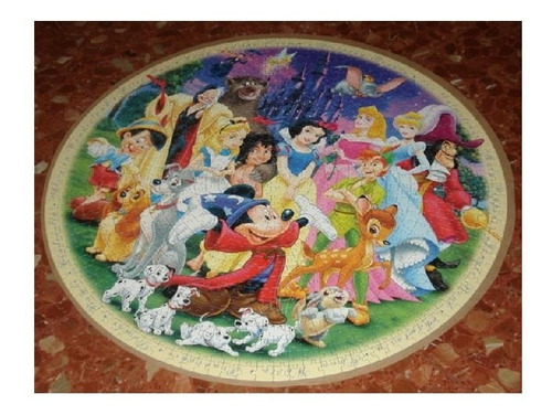15784 ravensburger rompecabezas circular disney 1000 piezas