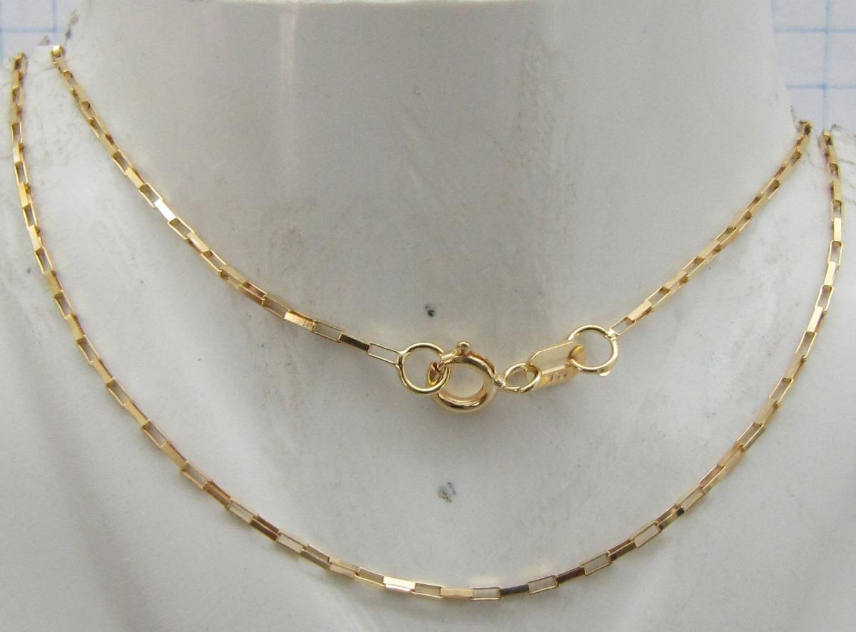 c94a45708ded6 1594 corrente veneziana longa 45 cm ouro 18k rpw joias li. Carregando zoom.