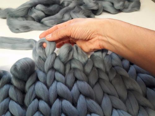 1.5kg estambre xxl color mostaza envío gratis lana merino