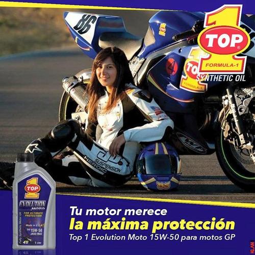 15w50 full sintético para motos de alto cilindraje  top 1