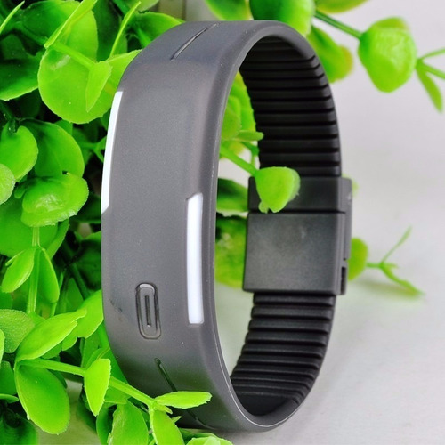 15x relógio led digital sport pulseira bracelete academia