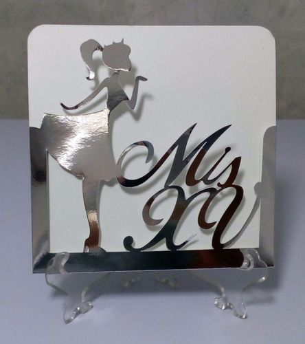 15x15 cm - 25 sobres invitación mis xv años - kraft colores