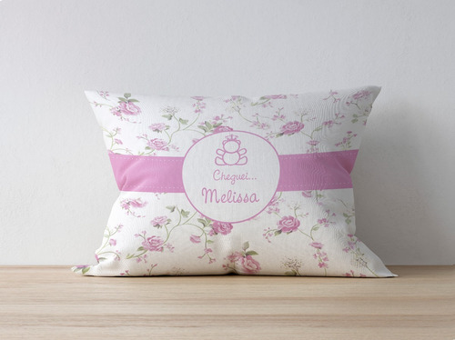 16 almofadas personalizadas 20x30 lembrancinha maternidade