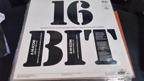 16 bit hi score vinilo maxi europe excelente tema