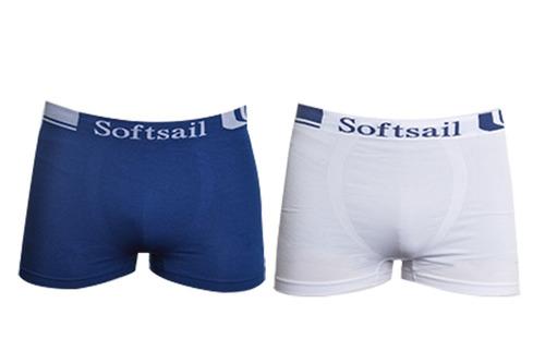 16 boxers slip hombre  microfibra marca softsail talla m