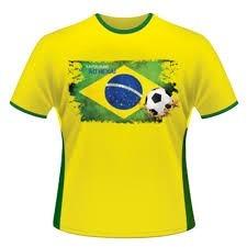 16 camisetas da copa brasil 2014-unissex- em oferta hoje!