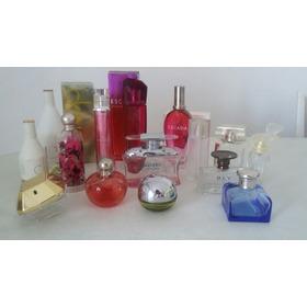 16 Envases De Perfumes Importados Originales