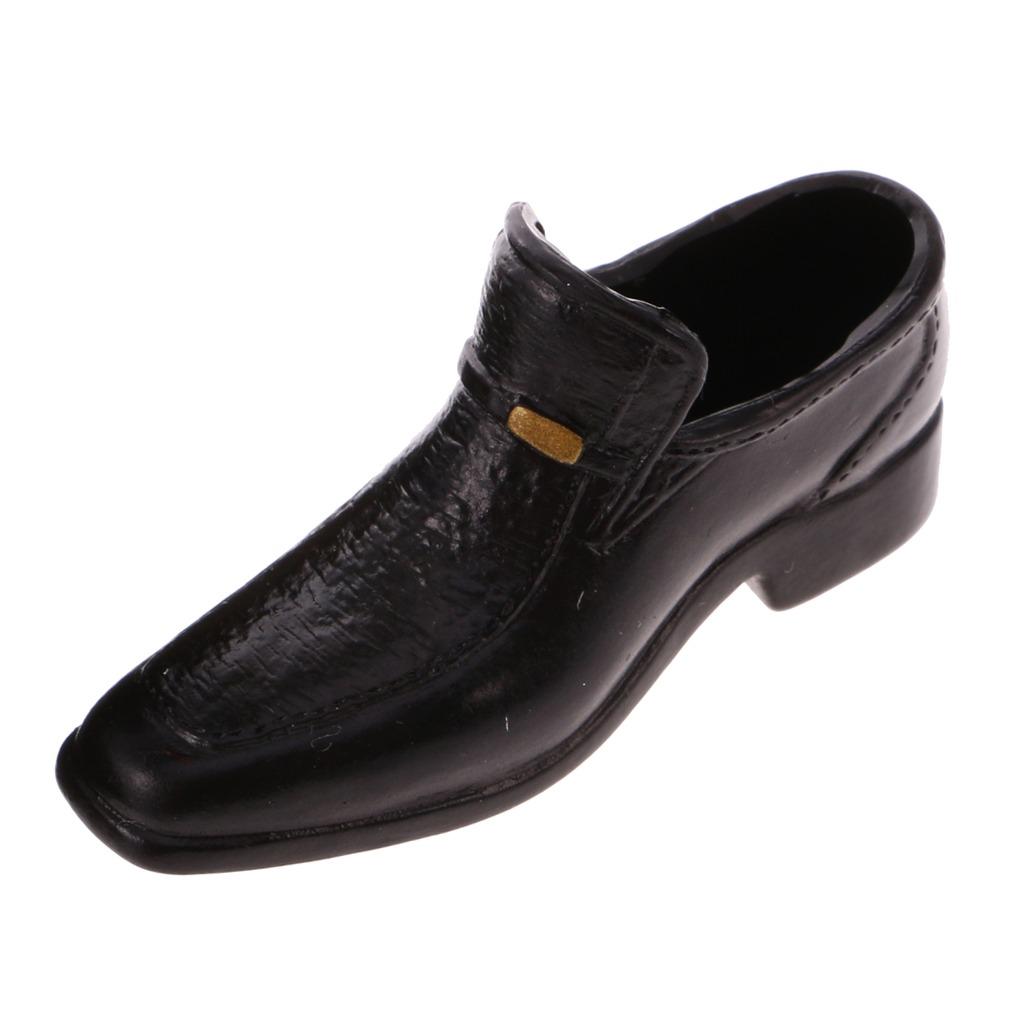 7440a85e 1/6 escala traje negro con zapatos accesorios para 12\\\'\. Cargando zoom.