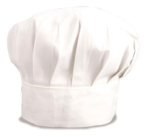16 gorros de chef para niño(a)en tergal talla 6-8 ó 10-12