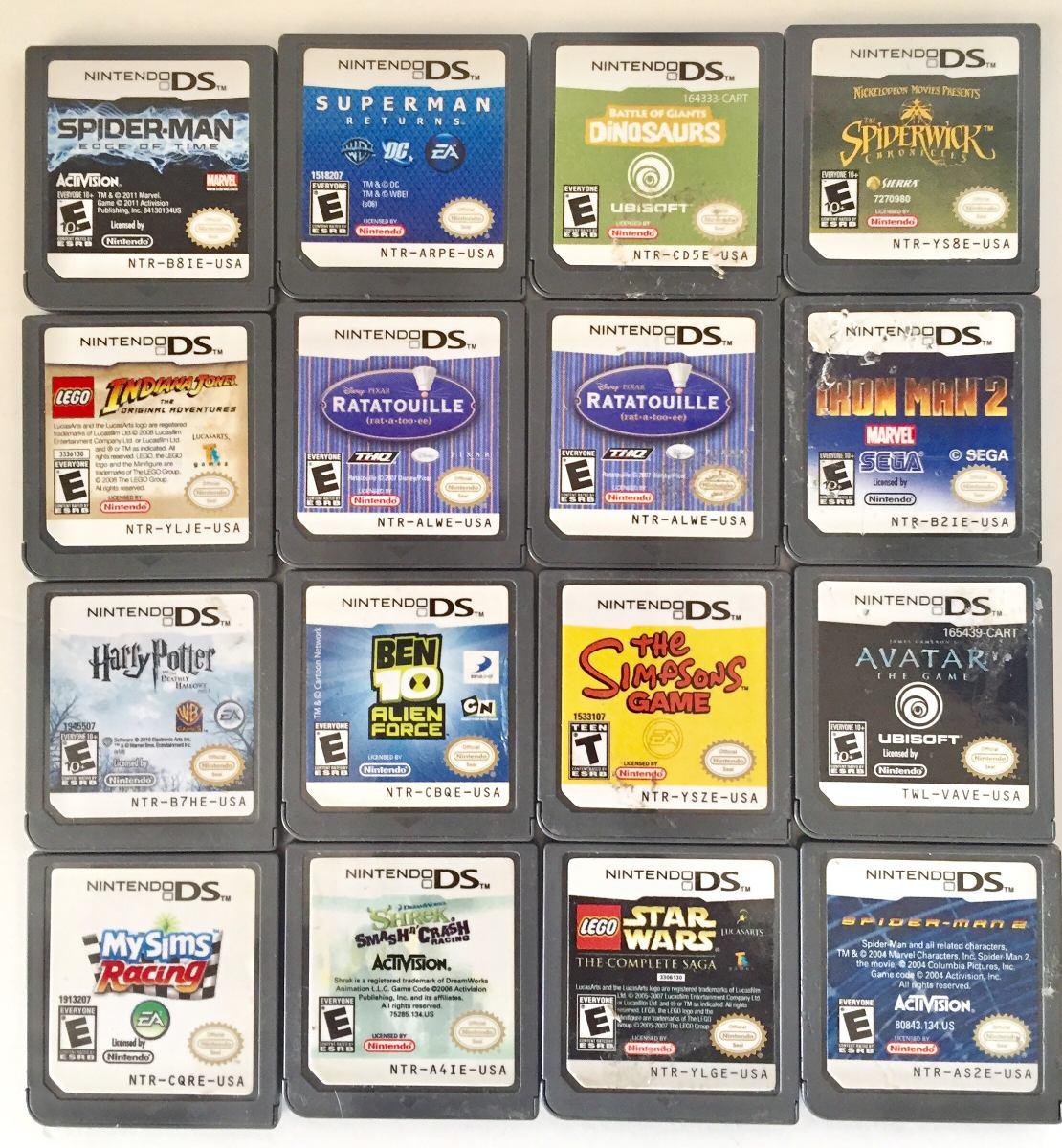 16 Juegos Nintendo Ds Y 1 Ds3d Usados Precio X Undad D 110 00