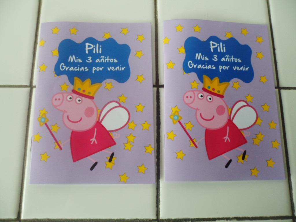 16 Libros Colorear 10x14 Peppa Pig Y 16 Lapices X6 Sur Lomas - $ 350 ...