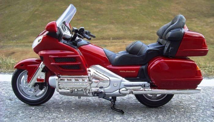 16 Moto Honda Goldwing 1800cc Motormax 41 Cm Gigante 76262 R 329