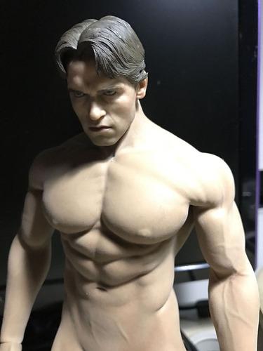 1/6 phicen-corpo masculino body head terminator-doll-hottoys