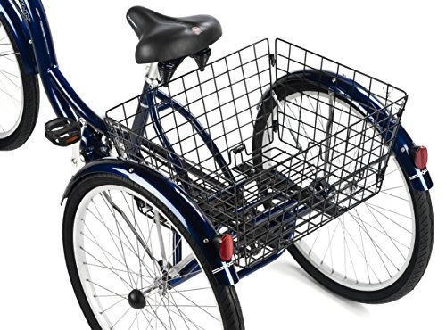16-pulgadas marco de schwinn hampton triciclo de 26