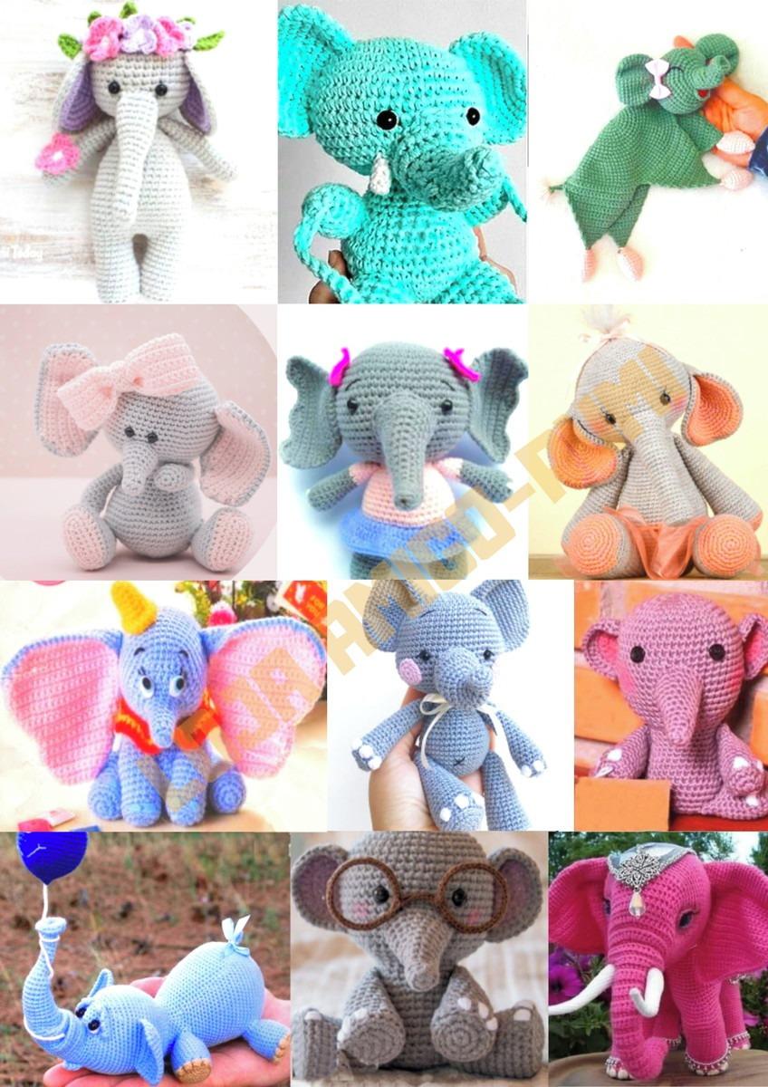 Elefante por amigurumi amor Receita por Bia Moraes ...   1200x848
