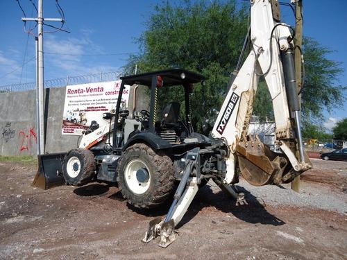 16) retroexcavadora terex 2004 760 b 4x4 y extension