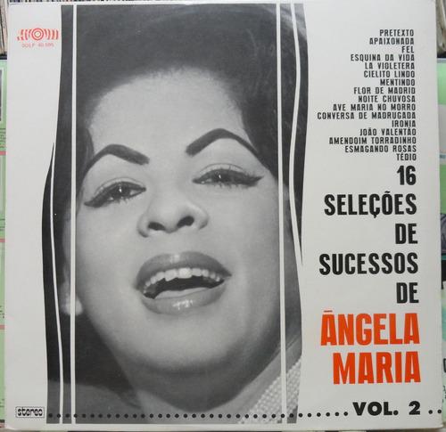 16 seleções sucessos ângela maria lp som 1975 stereo