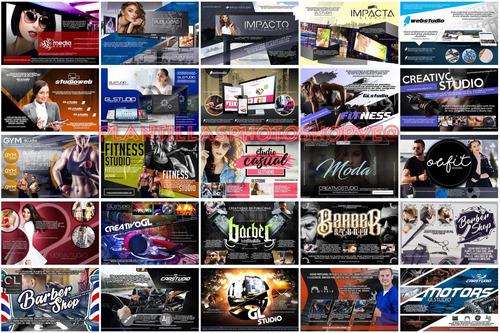 160 plantillas photoshop banners publicitarios editables