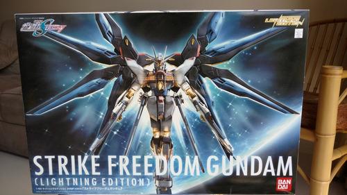 1/60 strike freedom lightning edition (gundan seed destiny)