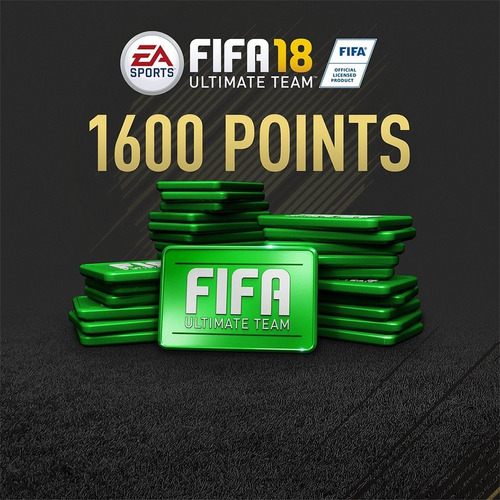1.600 fifa points para fifa 18 ps4 (código digital)