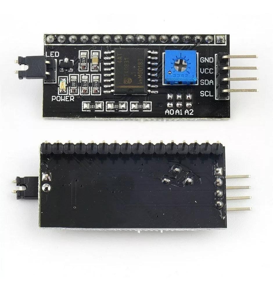 IIC//I2C//TWI//SPI interfaz serial para proyectos 1602 Pantalla para Arduino