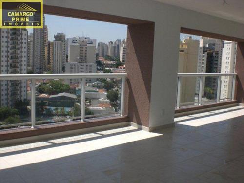 161 m². vista panorâmica. hall social privativo, 3 quartos sendo 2 suítes - eb68661