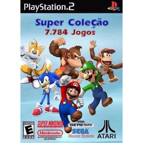 16123 Jogos De Super Nintedo Mega Nes Atari Para Play2 Pc Gb