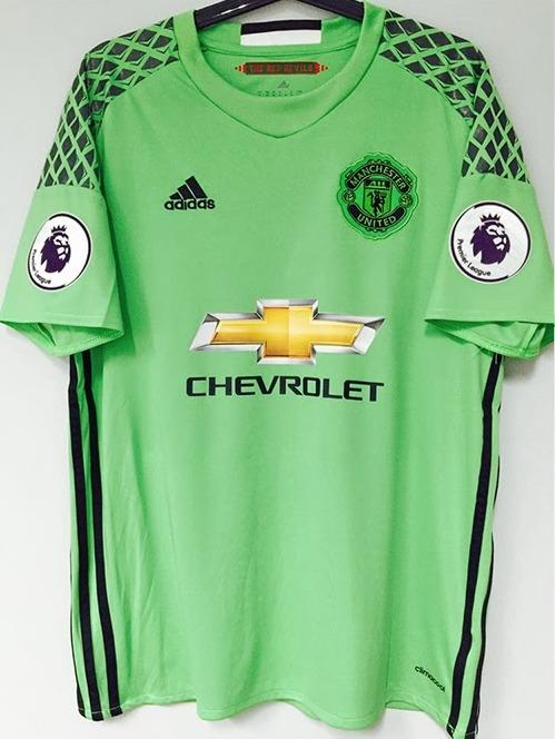 577028c11b 16 17 Camisa Goleiro Manchester United Home De Gea   1 - R  134