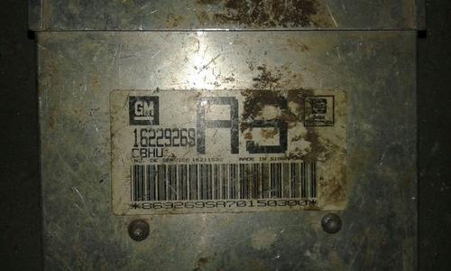 16229269 - módulo de injeção - corsa 1.6 8v gasolina